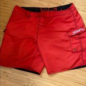 Quicksilver cargo board shorts